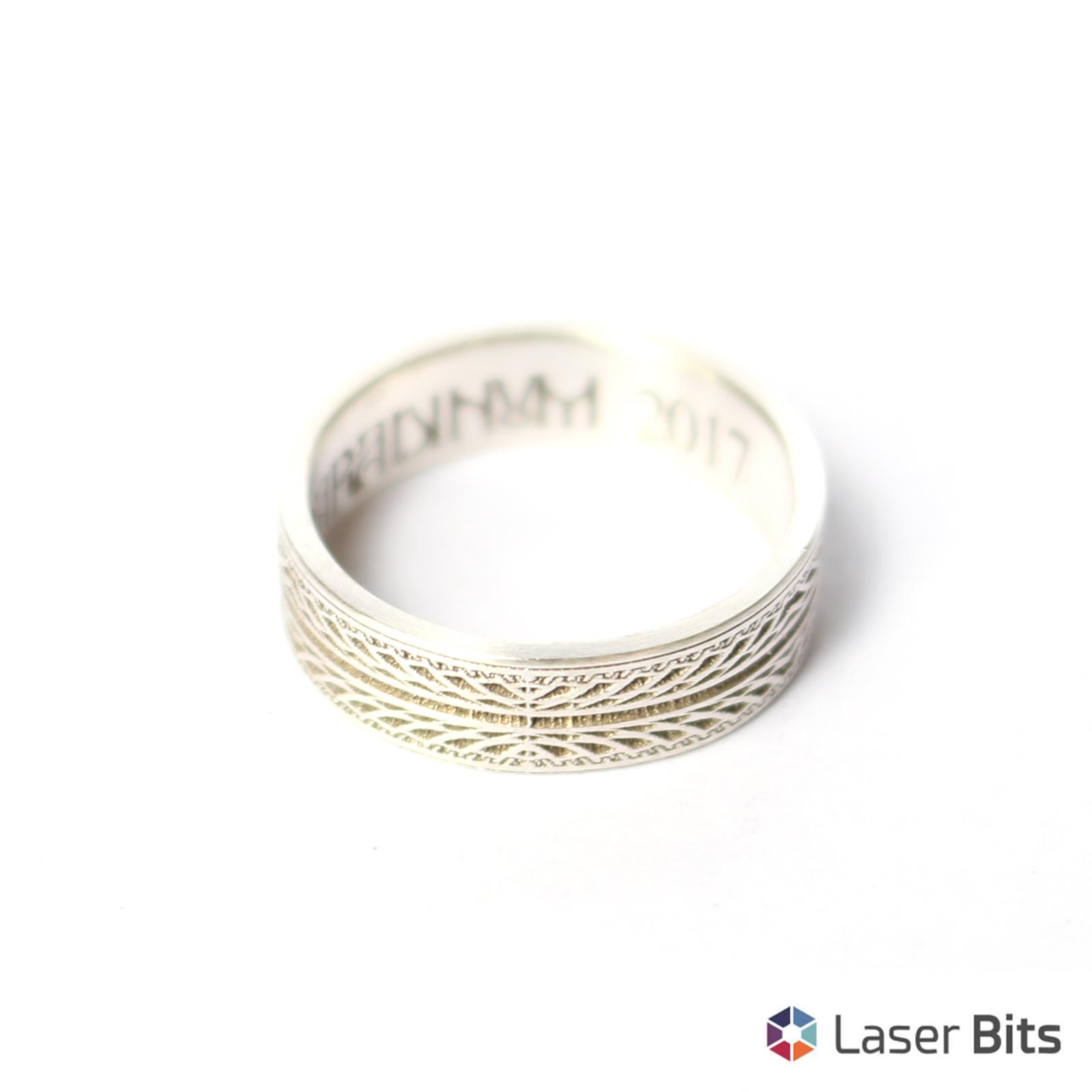 Inel Din Argint Tip Verigheta Gravura Bijuterii Products